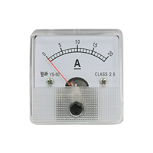 Amico Plastic Clear Encased DC20A Analogue Ampere