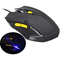 Kinghard Luxury 1600DPI LED Optical Adjustable Wired Gaming Mouse For Laptop PC