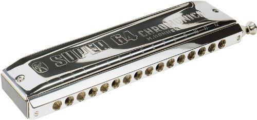 Hohner Super 64 Chromonica, Key of C (Harmonica Valves compare prices)