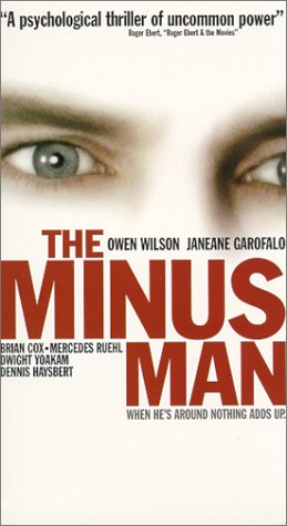 Minus Man [VHS] [Import]