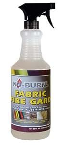 No-Burn Fabric Fire Gard Spray,  32-Ounce