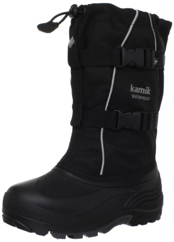 Kamik Icefox2 Boot (Toddler/Little Kid/Big Kid),Black,2 M US Little Kid