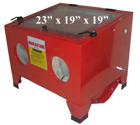 Lowest Prices! 80psi Table Top 5cfm Abrasive Sandblaster Blast Cabinet