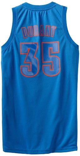 NBA Oklahoma City Thunder Winter Court Big Color Swingman Jersey, #35 Kevin Durrant, Navy, Large adidas Jerseys autotags B008X7Z5VG