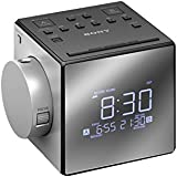 sony icf c1pj ced radio r veil fm am double alarme cran led 700mw horloge digitale gris. Black Bedroom Furniture Sets. Home Design Ideas