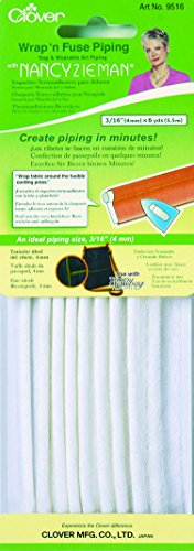 Best Deals! Clover Wrap 'n Fuse with Nancy Zieman Piping