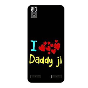 Vibhar printed case back cover for Lenovo A6000 Plus DaddyJi