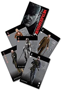 Great Eastern Metal Gear Solid 4 Guns Of The Patriots Playing Card