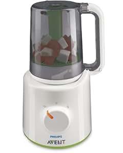 Philips AVENT  Robot Maxisaveurs - cuiseur vapeur / mixeur