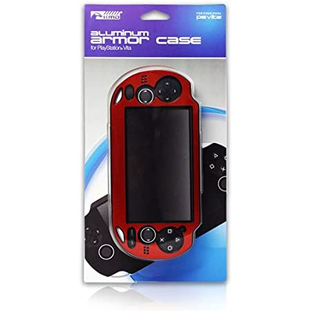 KMD PS Vita Dual Injected Aluminum Armor Case Red
