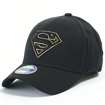 ab00fe2e74c ililily Superman Baseball Cap with Superman Shield Embroidery Fitted Trucker  Hat (ballcap 602 5 S) on PopScreen