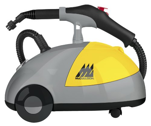 Review McCulloch MC-1275 Heavy-Duty Steam Cleaner
