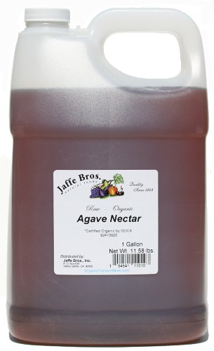 Organic Agave Nectar, Raw - 1 Gallon