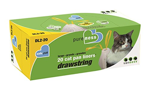 Pureness Large Drawstring Valu-Pak Cat Pan Liners, 20 Count (Pureness Cat Pan compare prices)