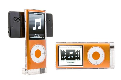 Cyanics Portable Swing Speaker With Protective Case For Ipod Nano 4Th Generation (Ips-26)