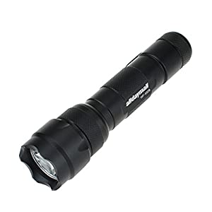Alldaymall F-507 Wf-502B Cree R5 Single Mode 300 Lumen LED Flash Hunting