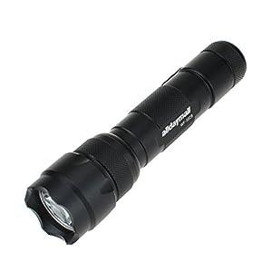Alldaymall F-507 Wf-502B Cree R5 Single Mode 300 Lumen LED Flash Hunting