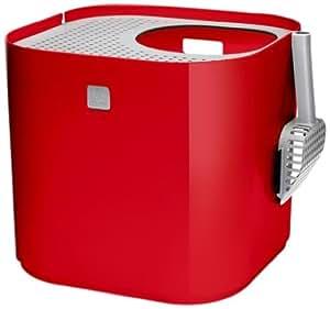 modkat 74182 cat litter box red pet supplies. Black Bedroom Furniture Sets. Home Design Ideas