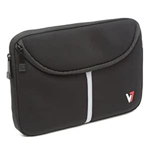 """V7 Professional Neoprene sleeve for tablets, ipads, mini PC up to 12"""" black"""