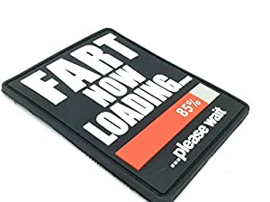 Fart Now Loading PVC Grand Airsoft Velcro Patch