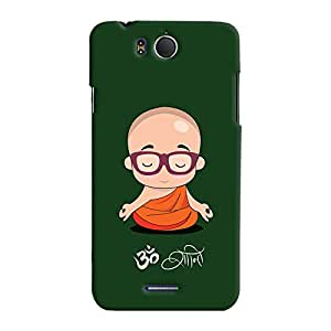 ColourCrust Infocus M530 Mobile Phone Back Cover With Om Shanti Quirky - Durable Matte Finish Hard Plastic Slim Case