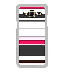 Beautiful Multicolour Line Pattern 2D Hard Polycarbonate Designer Back Case Cover for Samsung Galaxy J3 2016 :: Samsung Galaxy J3 2016 Duos :: Samsung Galaxy J3 2016 J320F J320A J320P J3109 J320M J320Y