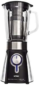 Solac BV5722 Professional Mixter - Batidora de vaso, 1000 W, jarra de cristal, 1.5 l, accesorio filtro para zumos