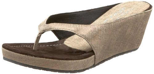 Donald J Pliner Women's Guenna Wedge Sandal,Grey,5.5 M US