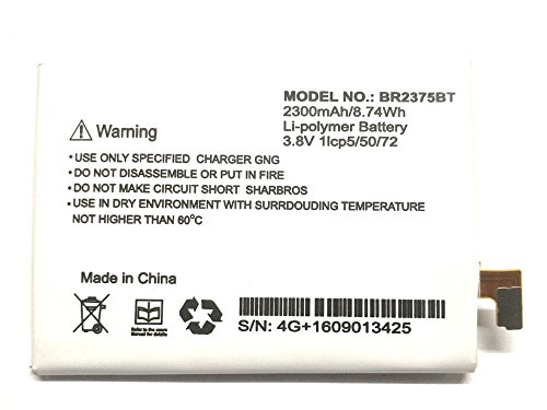 GnG 2300mAh Battery (For Intex Aqua 4G Plus)
