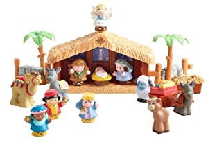 Little People Christmas Story Nativity with Lights and Sounds