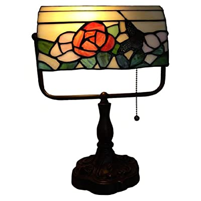Flower Banker Tiffany Lamp