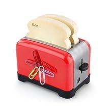 Der ultimative OfficeToaster - Rot: Halter für Memopads, Büroklammern, Handydock, Bleistiftspitzer (Gebundene Ausgabe)