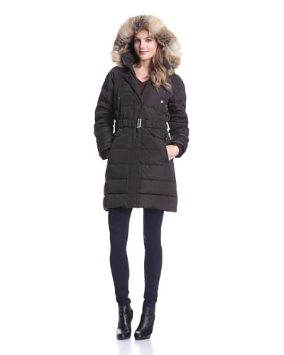 Jones New York Women's Down Jacket  - Bittersweet Chocolate