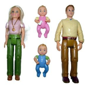 Fisher Price Loving Family Dollhouse Twin Time Dolls
