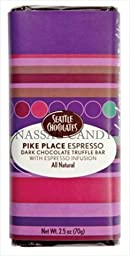 Seattle Chocolate - Pikes Espresso 2.5 Oz - Pack Of 12