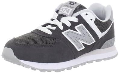 (超值)New Balance新百伦 KL574 Pre Classic Fashion 儿童高端运动鞋灰$29.98