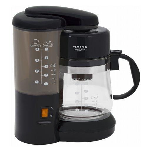 山善(YAMAZEN) コーヒーメーカー YSK-625(BK) ブラック