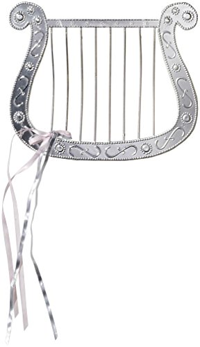 Silver Plated Angel Harp for Angel Costumes