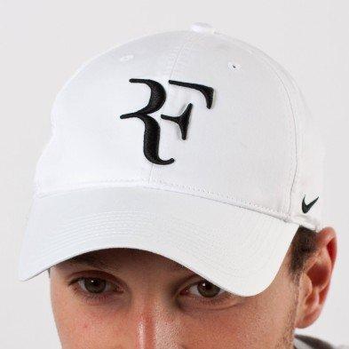 NIKE Roger Federer Men's Hybrid Cap white / black Size:one size (Roger Federer Cap compare prices)
