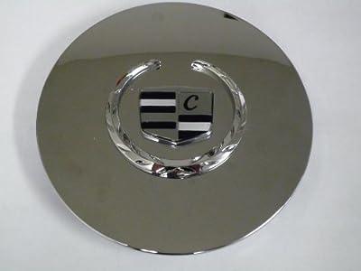 Otis Inc LA Cadillac Seville, Deville, El Dorado, DTS Chrome Wheel Center Cap with Chrome Wreath and Crest
