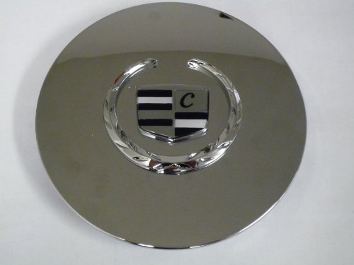 Otis Inc LA Cadillac Seville, Deville, El Dorado, DTS Chrome Wheel Center Cap with Chrome Wreath and Crest (Cadillac Deville Caps compare prices)