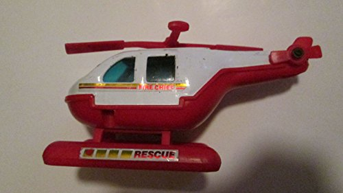 Buddy L Fire Chief Rescue Helicopter (1980) 6 X 3 Inches - 1