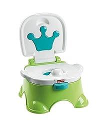Fisher Price Royal Stepstool Potty, Multi Color