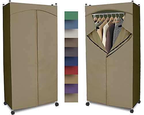 kmart portable wardrobe with cover instructions