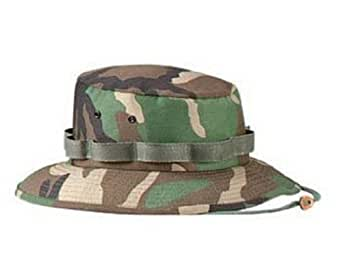 5547 Woodland camo Jungle Hat (medium)