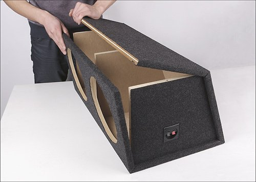 "Fierce Audio - 12"" Dual Sealed Flat Pack Subwoofer Enclosure"