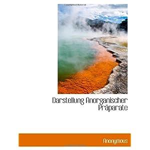 【クリックでお店のこの商品のページへ】Darstellung Anorganischer Praeparate [ペーパーバック]