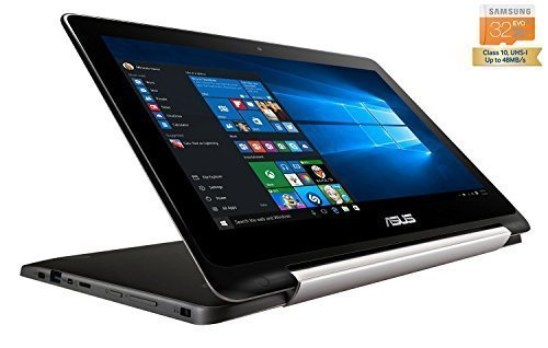 Asus TP200SA-UHBF Flip Transformer Book 2-in-1 Convertible Touchscreen Ultrabook Laptop Tablet (Intel Celeron...