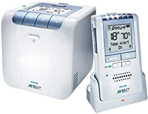 Philips AVENT Baby Monitor with Temperature and Humidity Sensors and New Eco Mode (Discontinued by Manufacturer)