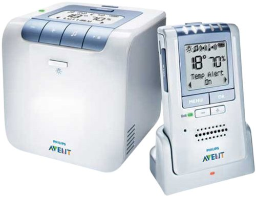 Philips AVENT Baby Monitor with Temperature and Humidity Sensors and New Eco Mode (Discontinued by Manufacturer) - 1